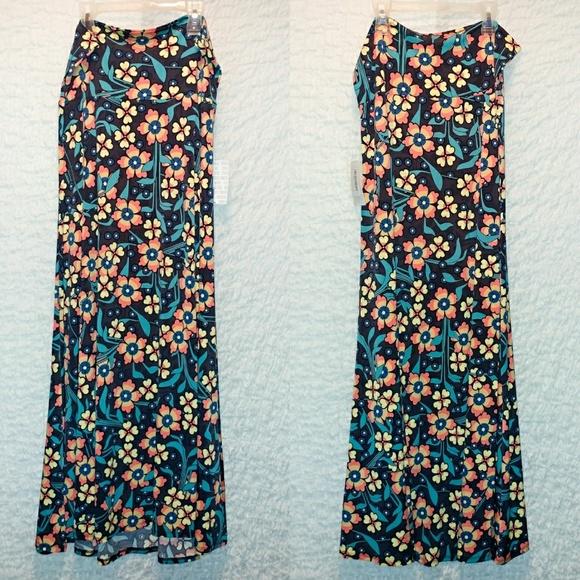 LuLaRoe Dresses & Skirts - Lularoe Maxi Skirt, vintage floral, Large